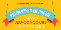 Haut de l'affiche du concours Patrimoines en poésie