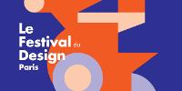 Milieu de l'affiche du festival 'D'DAYS. Le Festival du Design Paris'