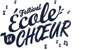 Visuel du Festival École en chœur