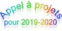 'Appel à projets pour 2019-2020'