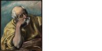 Le Greco (1541-1614), Saint Joseph, 1577-1580, huile sur toile, 68 × 56 cm