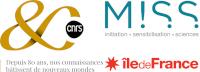 Logos accolés des 80 ans du CNRS et de la MISS Ile-de-France