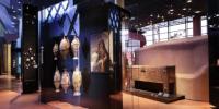 Plateau des collections du musée du quai Branly-Jacques Chirac, zone Afrique du Nord–Proche-Orient