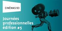 Visuel 'Logo Cinémas 93 - Journées professionnelles - édition #5'