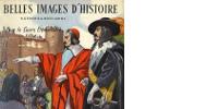 Haut de la couverture 'BELLES IMAGES D'HISTOIRE H.GÉRON & A.ROSSIGNOL - Pour le Cours Élémentaire'