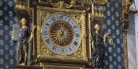 L'horloge de la tour du palais de la Cité