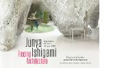 Affiche de l'exposition 'Junya Ishigami, Freeing Architecture - 30 mars > 10 juin 2018'