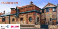 'FA-Briques #4 mardi 15 mai 2018 de 10h à 16h30' les bâtiments en briques d'Anis Gras - logos