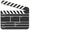 Clipart : clap de cinéma
