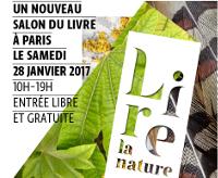 Affiche du salon du livre 'Lire la nature'