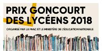 PRIX GONCOURT DES LYCÉENS 2018 - ORGANISÉ PAR LA FNAC ET LE MINISTÈRE DE L'ÉDUCATION NATIONALE