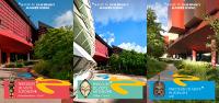 Couvertures accolées des 3 documents PDF de parcours de visite autonome