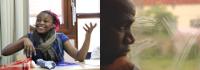 Photogrammes accolés des 2 documentaires projetés