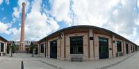 Vue panoramique de l'Institut national du patrimoine à Aubervilliers