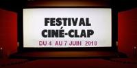 Visuel 'FESTIVAL CINÉ-CLAP - DU 4 AU 7 JUIN 2018'