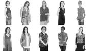 5 rangées de 5 colonnes de portraits de femmes scientifiques