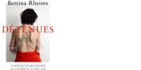 Affiche 'Bettina Rheims - DÉTENUES - CHÂTEAU DE VINCENNES DU 9 FÉVRIER AU 30 AVRIL 2018'