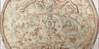 Détail de la couverture du catalogue de 'Georges Focus. La folie d'un peintre de Louis XIV'