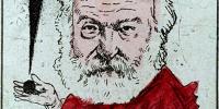 'Victor Hugo, binettes' par Pierre-Albert Douat, dit J. Blass (1847-1892)