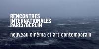 'RENCONTRES INTERNATIONALES PARIS/BERLIN - nouveau cinéma et art contemporain' En fond, océan agité