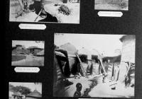 Extrait de la page de l'album de photographies de la Mission du lieutenant-colonel Henry Moll