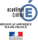 Logo Académie de Créteil - région académique Ile-de-France - Marianne