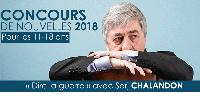 'CONCOURS DE NOUVELLES 2018 Pour les 11-18 ans «Dire la guerre» avec Sorj Chalandon' buste accoudé