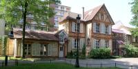 Façade de l'artothèque à Saint-Maur-des-Fossés