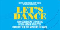 LET'S DANCE 1000 collégiens et lycéens de l'académie de Créteil chantent sur des musiques de danse