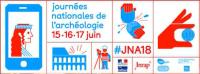 'journées nationales de l'archéologie 15◆16◆17 juin - #JNA18'