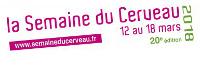 Visuel 'la Semaine du Cerveau - 12 au 18 mars 2018 - 20e édition - www.semaineducerveau.fr'