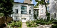 Le jardin et la façade de l'atelier de Delacroix