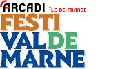 Logos d'Arcadi et du Festi'Val de Marne