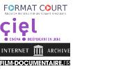 Logos : FORMAT COURT, ciel, INTERNET ARCHIVE, FILM-DOCUMENTAIRE.FR