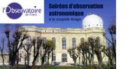 'l'Observatoire de Paris - Soirées d'observation astronomique à la coupole Arago'. Vue du bâtiment