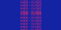 Détail de la couverture du livre 'INSIDE - OUTSIDE Practices between Art and Education'