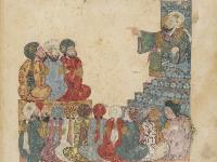 Extraitd'une peinture de Yahyâ ibn Mahmud al-Wâsiti, Iraq, 1237