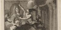 Estampe : Louis XIV en buste de ¾. Source gallica.bnf.fr / BnF