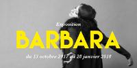 Affiche de l'exposition Barbara