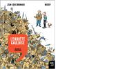 Couverture de l'ENQUÊTE GAULOISE, 2e volume de l''Histoire dessinée de la France'