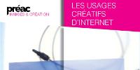 Page d'accueil du site: https://www.reseau-canope.fr/ile-de-france/preac/images-et-creation/