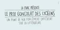 Extrait de l'affiche du prix Goncourt des lycéens
