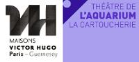 Les logos des Maisons de Victor Hugo et du Théâtre de l'Aquarium