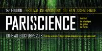 Affiche de la 14ᵉ édition du Festival international du film scientifique - PARISCIENCE à l'IPGP