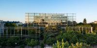 Le bâtiment de la Fondation Cartier pour l'art contemporain