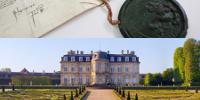 Visuels des  Archives diplomatiques et du Centre des monuments nationaux-Château de Champs-sur-Marne